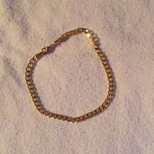 Jewelry - 10k yellow gold plated high quality bracelet